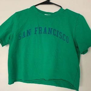 tilly's san francisco cropped top